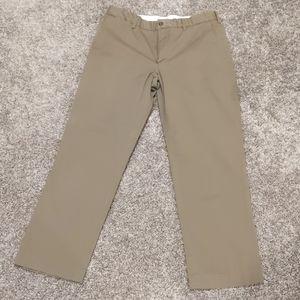 Men's Polo Ralph Lauren dark khaki dress pants, 32